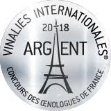Vinalies Internationales Paris 2018 - silver medal