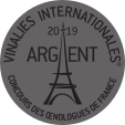 Vinalies Internationales Paris 2019 - silver medal