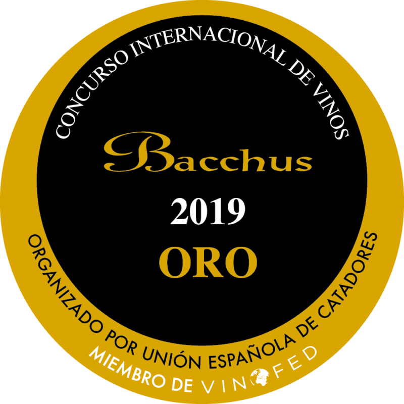 Concurso Bacchus Madrid 2019- gold medal