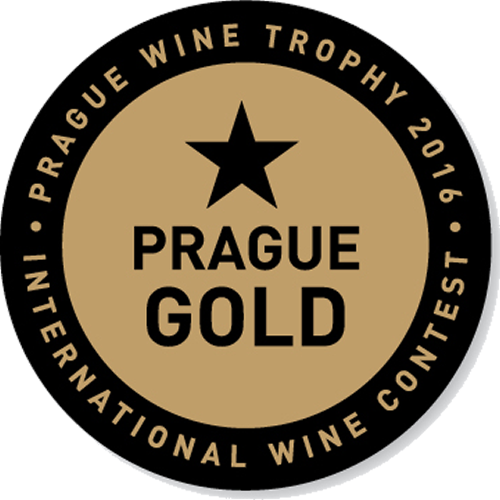 Zlatá medaila Prague Wine Trophy 2020